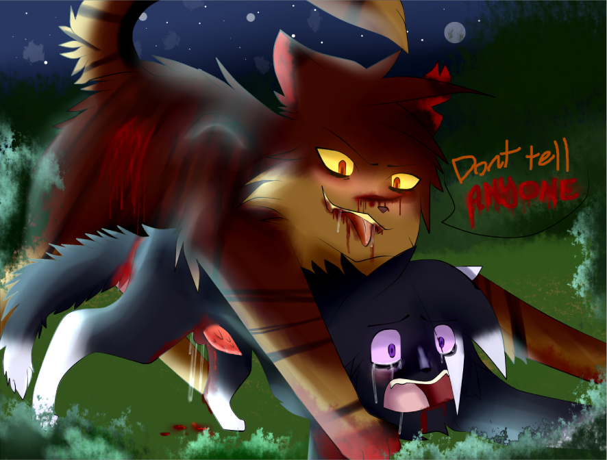 pages scourge coloring warrior cats Ichigo darling in the franx