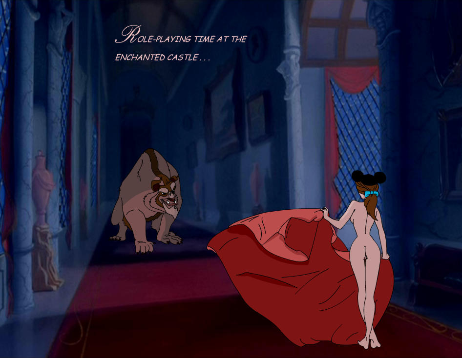the belle beast nude and beauty Red hot riding hood