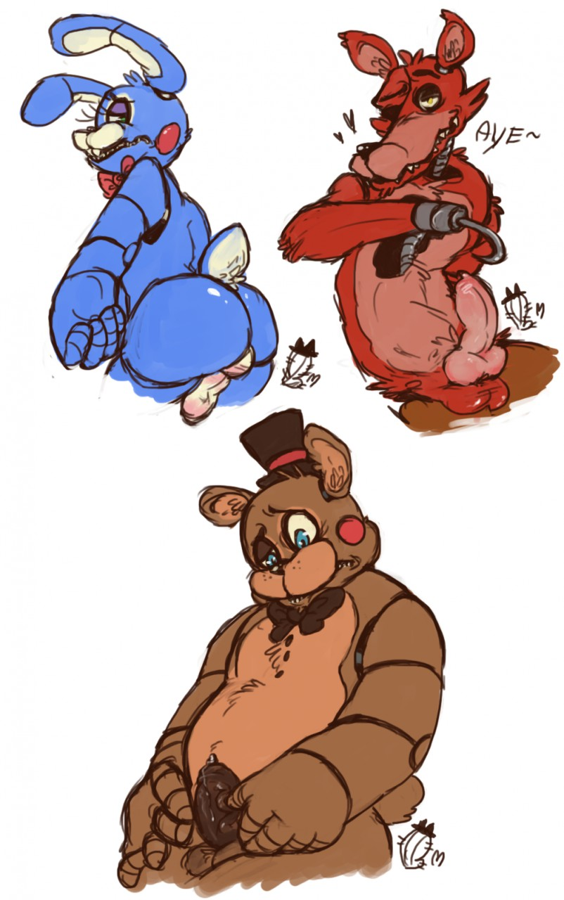 five 5 nights sonics at Conker's bad fur day cow