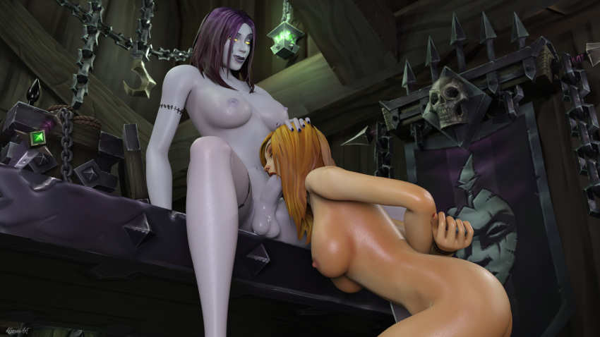 of blightcaller nathanos warcraft world Yamada kun and the seven witches porn