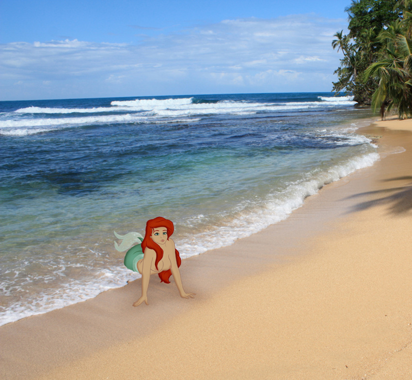 little nude mermaid the ariel Stock family guy death pose