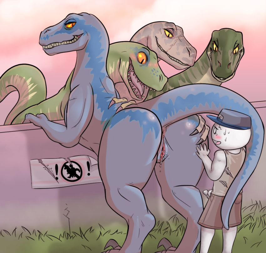 human dinosaur female male x Rick and morty